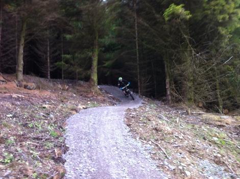 New trails at Penmachno