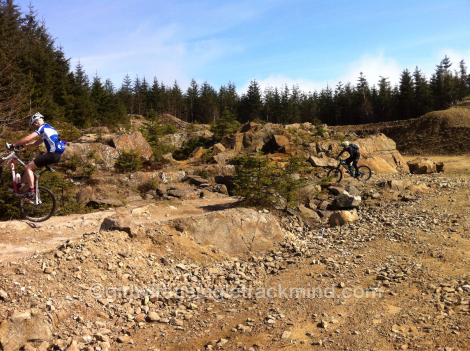 The quarry at Gisburn Forest