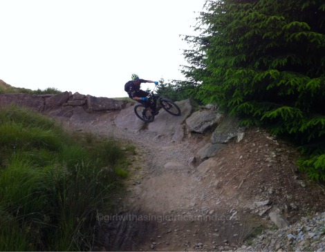 Rocky descents, Gisburn Forest