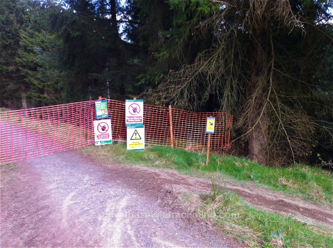 Diversions at Glentress