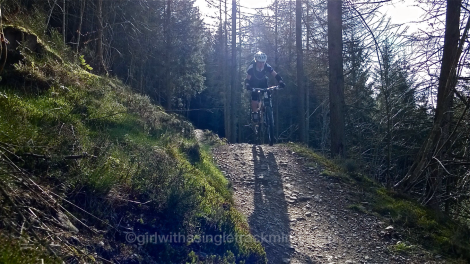 Black route, Llandegla