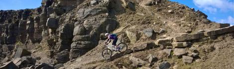 Lee Quarry black trail