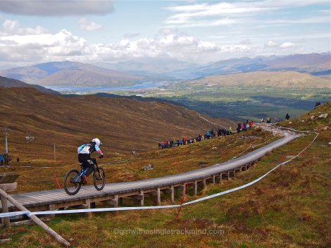 Downhill Mountain Bike World Cup Fort William