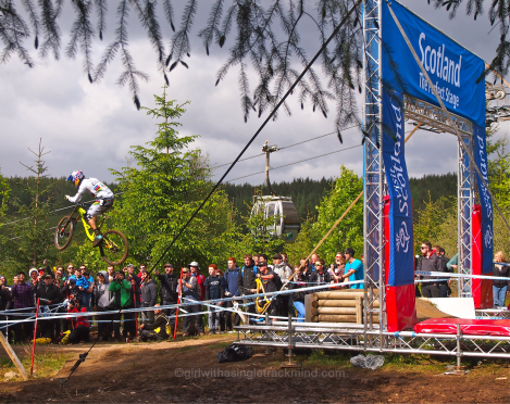 Gee Atherton - 2015 Downhill Mountain Bike World Cup , Fort William
