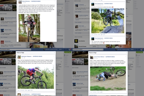 Responses to Superior Bikes' sexism