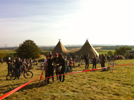 Red Bull Foxhunt event village