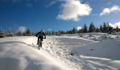 Llandegla in the snow