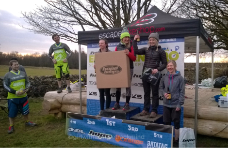 PMBA Enduro Series podium - women