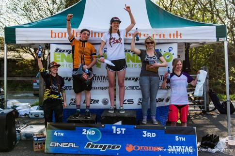 Lee Quarry podium