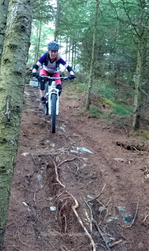 Steep off piste at Mabie