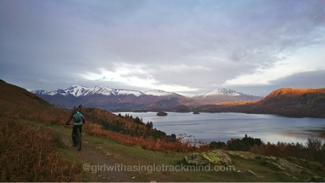 Stunning views of Derwent Water