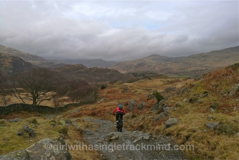 Descent to Seathwaite