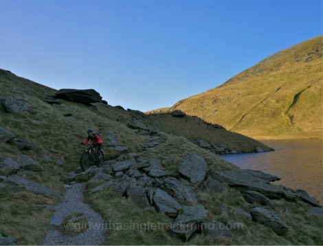 Descent from Gatesgarth Pass to Haweswater