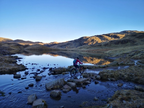 Sprinkling Tarn, the Lake District